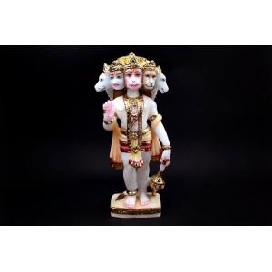 Lord Panchmukhi Hanuman marble idol