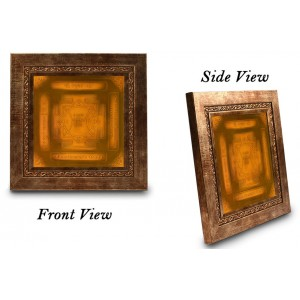 Shree Hanuman Yantra  6 Inches Wooden Frame