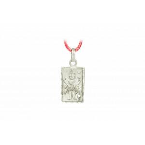 Mahakali Locket in Pure Silver