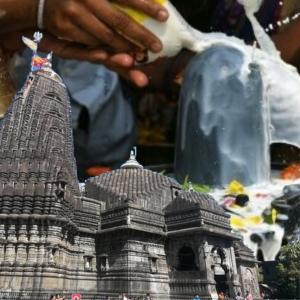 Rudra Abhishek at Kashi Vishwanath Temple