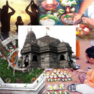 Puja for peace of departed soul at Trimbakeshwar Temple