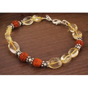 Yellow Topaz Oval Bracelet