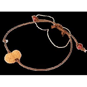 16 Mukhi Rudraksha Indonesia/Java Bracelet in Thread Small 14mm-17mm