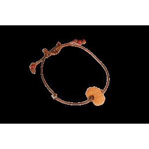 18 Mukhi Rudraksha Java/Indonesia  Bracelet in Thread 13mm