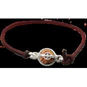 3 Mukhi Rudraksha bracelet  from Indonesia/Java - Large 15mm-17mm