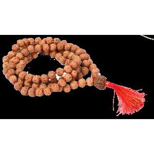 7 mukhi Mahalaxmi Mala Chikna Beads - 9mm