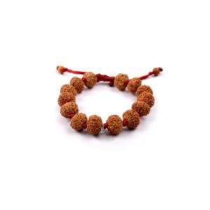 10 mukhi Narayan bracelet from Java in silk thread 15 mm
