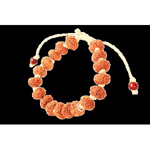 10 mukhi Narayan Bracelet in thread- Java 12 mm