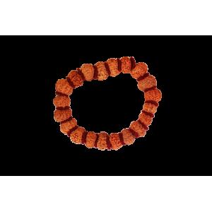 11 Mukhi Rudraksha bracelet - Java in Woolen Spacer