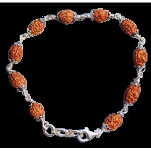Mahajwala Bracelet - Java in Silver Caps