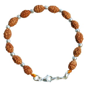 Mahajwala Bracelet - Java with Silver balls - 8mm