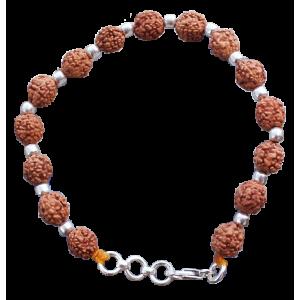 Brahma Bracelet - Java in Silver Balls
