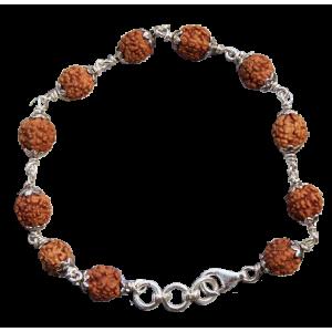 Brahma Bracelet - Java in Silver Capping