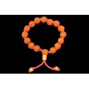 Punch Mukhi Rudraksha Bracelet (Chikna Bead) - I