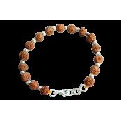 6 Mukhi Mars Power Bracelet - Java in Silver Balls