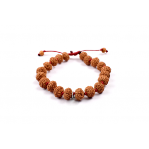 8 Mukhi Lord Ganesha Bracelet from Java in Silk Thread - 11mm