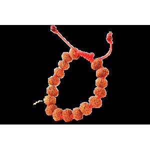 9 mukhi Durga Bracelet in thread - Java 12 mm