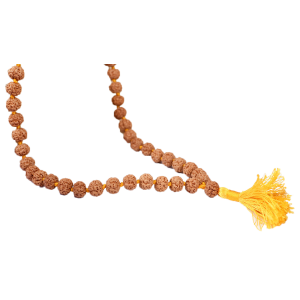 Rudraksha Mala 8mm - Chikna beads