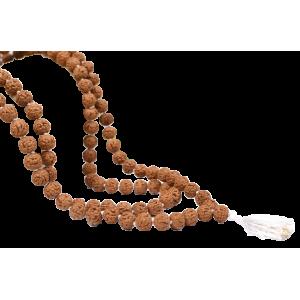 Rudraksha Mala 9mm - Semi Chikna Beads
