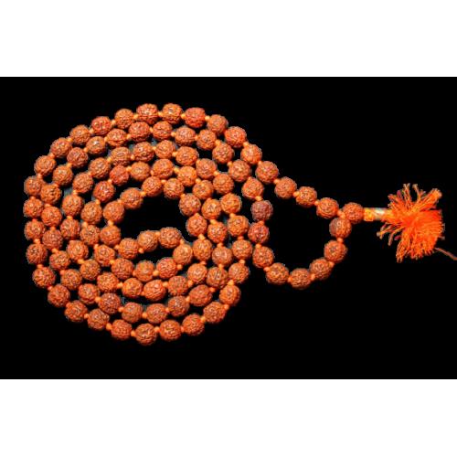 Rudraksha sumarni mala - Chikna beads