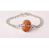 Hanuman Bracelet - Java Small Silver Chain