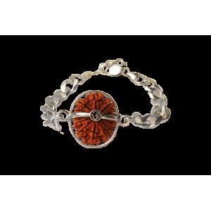 Hanuman Bracelet - Nepal Large Silver Chain