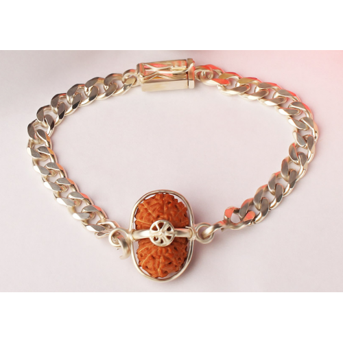Mahamrityunjaya Mantra Kavach - Java Small Silver Chain