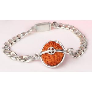 Narayan Krishna Bracelet - Java Large Silver Chain