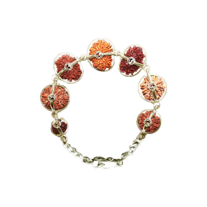 Sanjeevani Bracelet - Nepal Large Silver Clasp