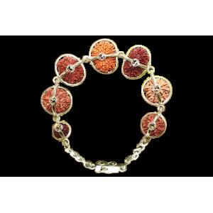 Sanjeevani Bracelet - Nepal Medium Silver Clasp