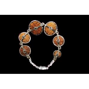Supreme Kavacham Bracelet - Nepal Medium Silver Clasp