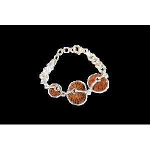 Courage Bracelet - Nepal Medium Silver Chain