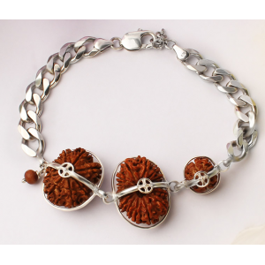 Courage Bracelet - Nepal Small Silver Chain