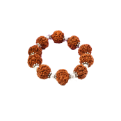 5 Mukhi Nepal Rudraksha Beads Bracelet - VII