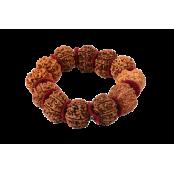 8 Mukhi Ganesh Bracelet Woolen Spacer