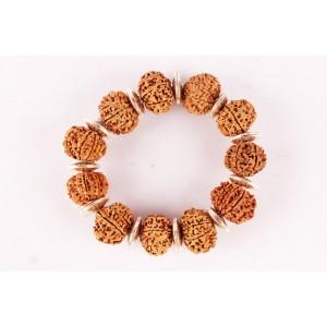 9 Mukhi Durga Shakti Bracelet Disc Shaped Spacer Small